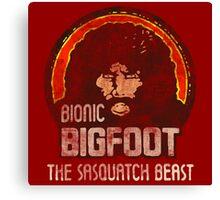 Bionic Bigfoot Canvas Print