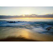 Sunset Shore Photographic Print