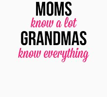 Grandmas Know Everything Quote Womens Fitted T-Shirt