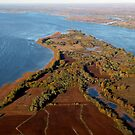 Ile Bouchard in fall by AndreCosto