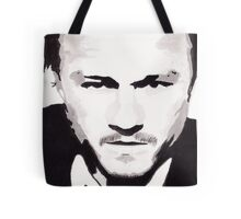 Heath Ledger - Portrait in India Ink by Guy Hoffman Tote Bag