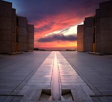Salk Institute Sunset by jswolfphoto