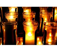 Altar Candles Photographic Print