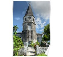 St. Matthew's Anglican Episcopal Church in Nassau, The Bahamas Poster