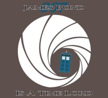 James Bond is a Time Lord One Piece - Short Sleeve