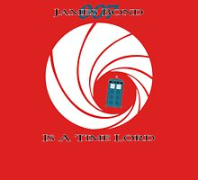 James Bond is a Time Lord T-Shirt