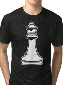 Queen Chess Piece Tri-blend T-Shirt