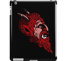 Satanic monster face iPad Case/Skin