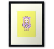 Chibi Lux League of Legends Framed Print