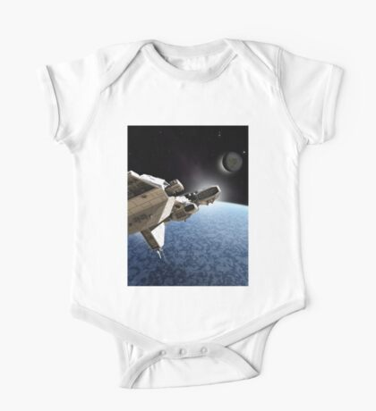Passing the Ice Planet One Piece - Short Sleeve