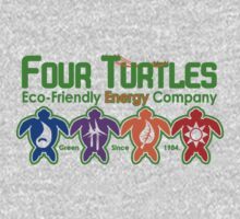Turtle Power One Piece - Short Sleeve