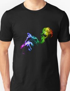 Colorful Smoke Unisex T-Shirt