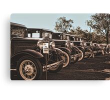 A-1 Used Cars Canvas Print