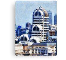 Modern Art Deco Canvas Print