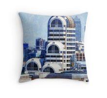 Modern Art Deco Throw Pillow