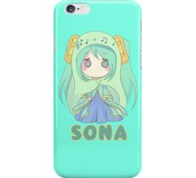 Chibi Sona League of Legends iPhone Case/Skin