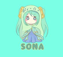 Chibi Sona League of Legends by LexyLady