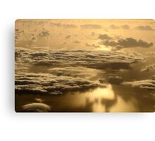 Early Morning Clouds Canvas Print