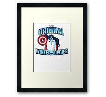 The Original Winter Soldier Framed Print