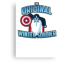 The Original Winter Soldier Canvas Print