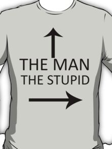 The Man With Stupid T-Shirt