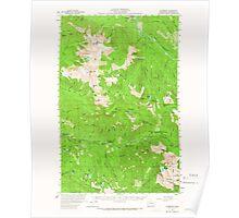 USGS Topo Map Washington State WA Silverton 243725 1957 62500 Poster