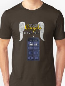 The Angels Have the Phonebox | Doctor Who Unisex T-Shirt