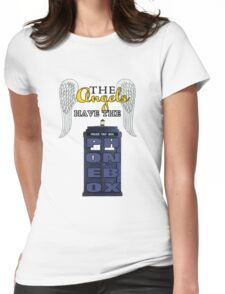 The Angels Have the Phonebox | Doctor Who Womens Fitted T-Shirt