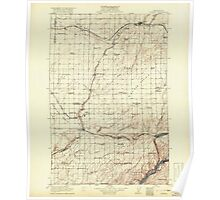 USGS Topo Map Washington State WA Connell 240640 1918 125000 Poster