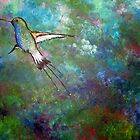 """Flight of the Hummingbird"" by Sally Ford"