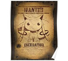 WANTED: Kyuubey Poster