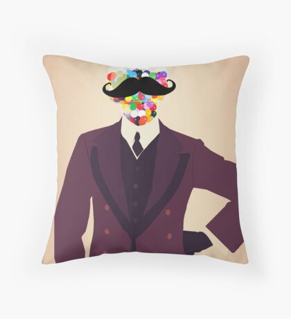 The Perfect Gentleman Throw Pillow
