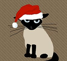 Siamese Santa by Jenn Inashvili
