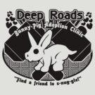 Deep Roads Bunny-Pig Adoption Clinic by CharmerPantsOff