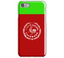 Sriracha Hot Hot Hot Sauce iPhone Case/Skin