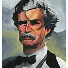 Mark Twain by Adrian Covert