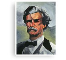 Mark Twain Canvas Print