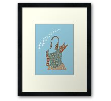 Under your spell Framed Print