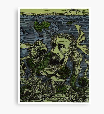Jules Verne Canvas Print