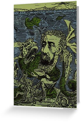 Jules Verne by Adrian Covert