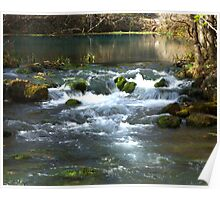 Alley Springs Small Waterfall Poster