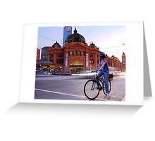 Flinders Street Greeting Card