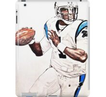 Cam Newton - Pencil Drawing iPad Case/Skin