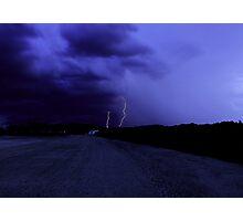Lightning Strikes Photographic Print