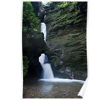 St Nectan's Kieve Waterfall Poster