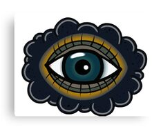 Cute eye Canvas Print
