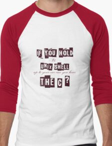 Can you hear the C ??? Men's Baseball ¾ T-Shirt