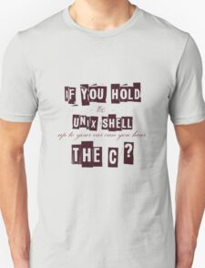Can you hear the C ??? T-Shirt