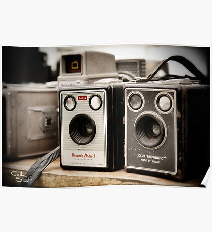 Old Cameras Poster
