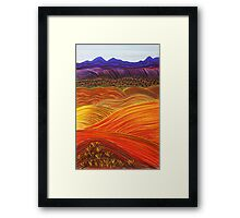 FLINDERS RANGES - Looking Back Framed Print